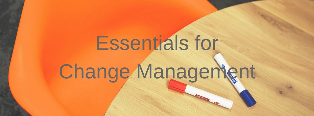 Essentials for Change Management