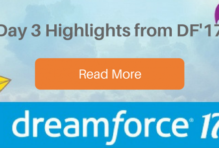 Dreamforce 2017 – Day 3 Highlights