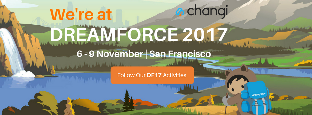 We're at Dreamforce '17 – Join Us!