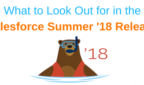 Top Features in the Salesforce Summer '18 Release